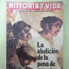 Coleccionismo de Revista Historia y Vida: HISTORIA Y VIDA. Nº 124. 1978.. Lote 52673815