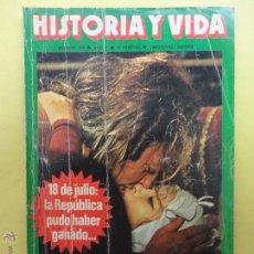 Coleccionismo de Revista Historia y Vida: HISTORIA Y VIDA. Nº 109. 1977.. Lote 78909878