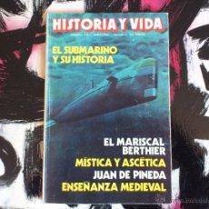 Coleccionismo de Revista Historia y Vida: HISTORIA Y VIDA - NUMERO 212 - 1968. Lote 53143559