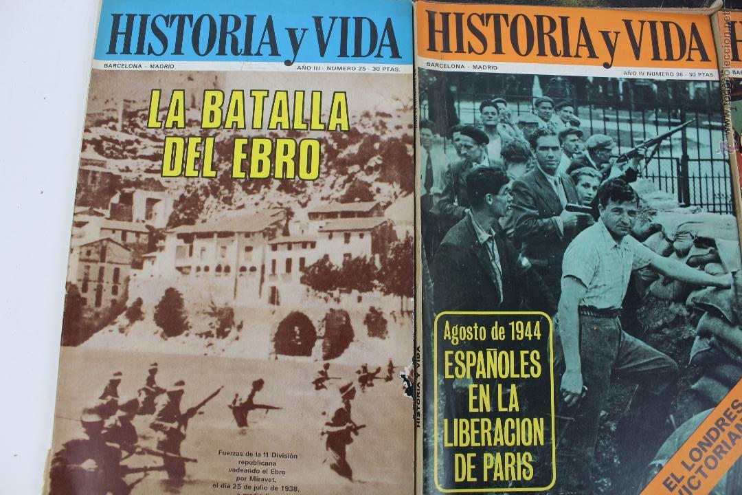 Coleccionismo de Revista Historia y Vida: L-3335. HISTORIA Y VIDA. 23 REVISTAS COMPLETAS AÑOS 1970 A 1973. - Foto 4 - 54802518