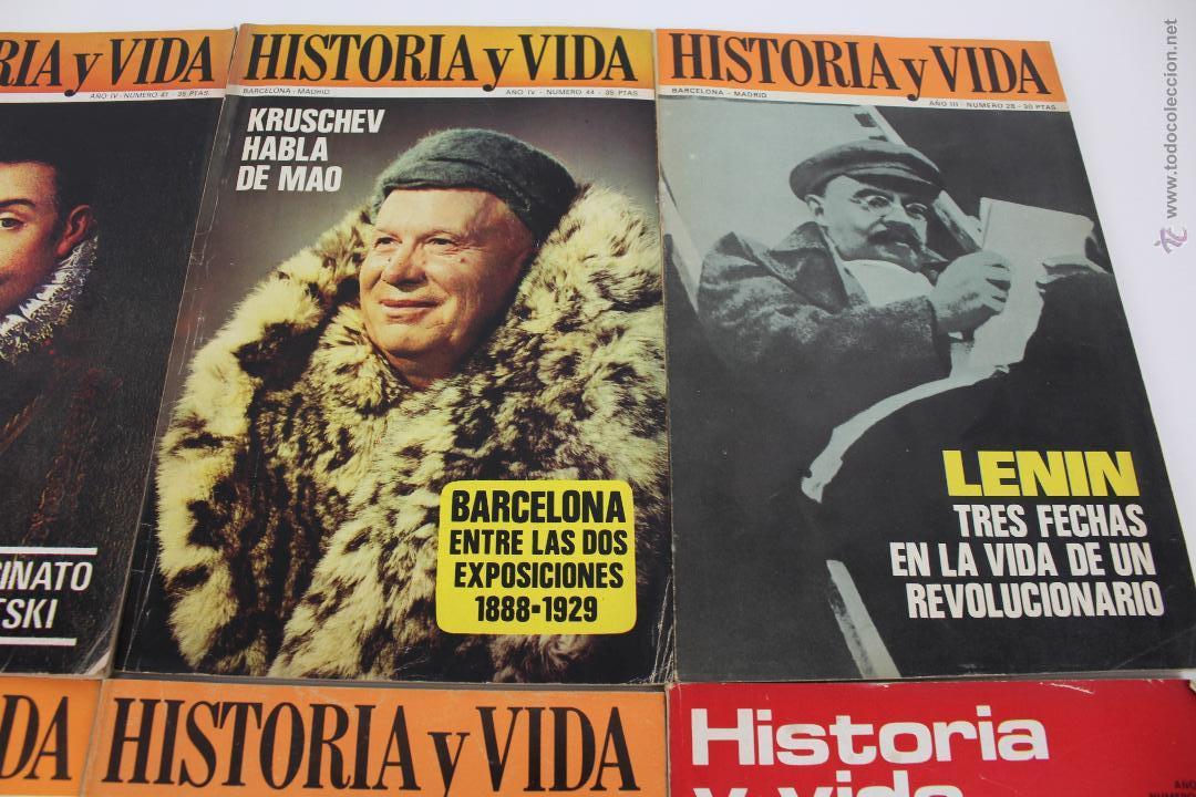Coleccionismo de Revista Historia y Vida: L-3335. HISTORIA Y VIDA. 23 REVISTAS COMPLETAS AÑOS 1970 A 1973. - Foto 6 - 54802518
