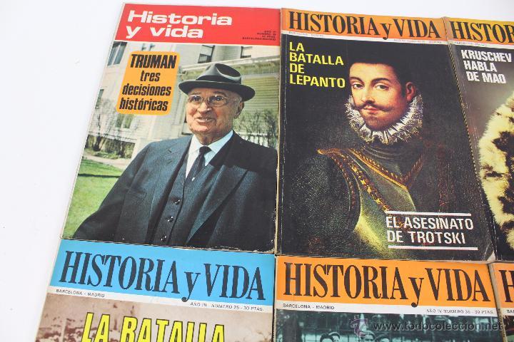 Coleccionismo de Revista Historia y Vida: L-3335. HISTORIA Y VIDA. 23 REVISTAS COMPLETAS AÑOS 1970 A 1973. - Foto 7 - 54802518