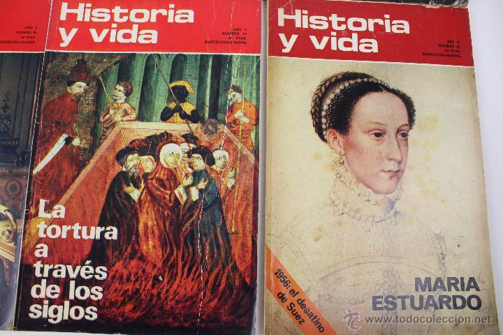 Coleccionismo de Revista Historia y Vida: L-3335. HISTORIA Y VIDA. 23 REVISTAS COMPLETAS AÑOS 1970 A 1973. - Foto 9 - 54802518
