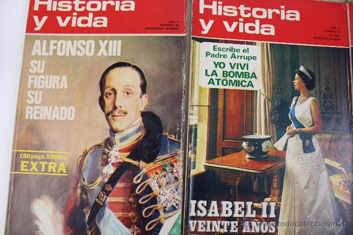 Coleccionismo de Revista Historia y Vida: L-3335. HISTORIA Y VIDA. 23 REVISTAS COMPLETAS AÑOS 1970 A 1973. - Foto 10 - 54802518