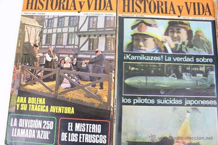 Coleccionismo de Revista Historia y Vida: L-3335. HISTORIA Y VIDA. 23 REVISTAS COMPLETAS AÑOS 1970 A 1973. - Foto 11 - 54802518