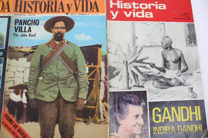 Coleccionismo de Revista Historia y Vida: L-3335. HISTORIA Y VIDA. 23 REVISTAS COMPLETAS AÑOS 1970 A 1973. - Foto 12 - 54802518