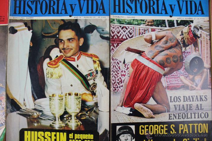 Coleccionismo de Revista Historia y Vida: L-3335. HISTORIA Y VIDA. 23 REVISTAS COMPLETAS AÑOS 1970 A 1973. - Foto 13 - 54802518
