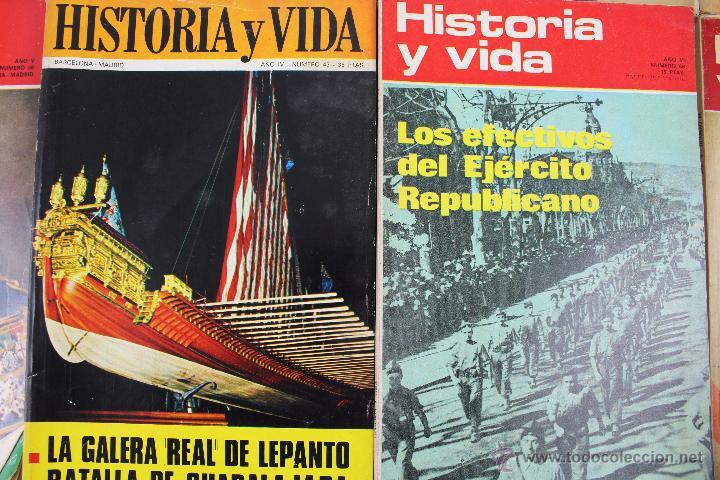 Coleccionismo de Revista Historia y Vida: L-3335. HISTORIA Y VIDA. 23 REVISTAS COMPLETAS AÑOS 1970 A 1973. - Foto 14 - 54802518