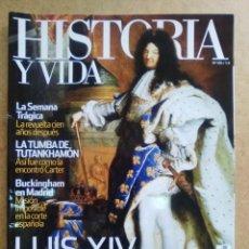 Coleccionismo de Revista Historia y Vida: REVISTA HISTORIA Y VIDA Nº 496 LUIS XIV Y EL LUJO. Lote 56166159