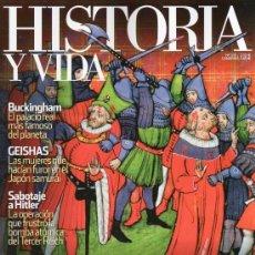 Coleccionismo de Revista Historia y Vida: REVISTA HISTORIA Y VIDA Nº 535 INDIGNADOS MEDIEVALES. Lote 56249087