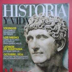 Coleccionismo de Revista Historia y Vida: REVISTA HISTORIA Y VIDA Nº 463 MARCO ANTONIO. Lote 56249290