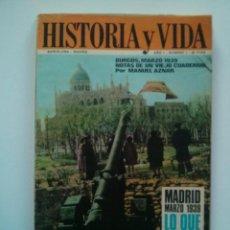 Coleccionismo de Revista Historia y Vida: HISTORIA Y VIDA (LOTE 43 NÚMEROS). Lote 56949989
