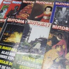 Coleccionismo de Revista Historia y Vida: 9 REVISTAS HISTORIA Y VIDA. Lote 56961910