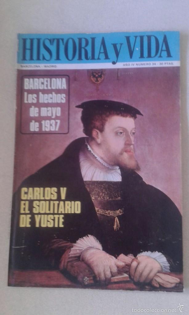 HISTORIA Y VIDA Nº 34 (Coleccionismo - Revistas y Periódicos Modernos (a partir de 1.940) - Revista Historia y Vida)