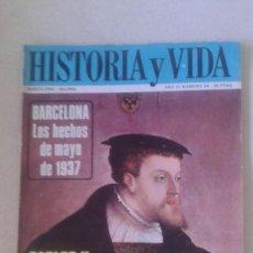 Coleccionismo de Revista Historia y Vida: HISTORIA Y VIDA Nº 34. Lote 58472999