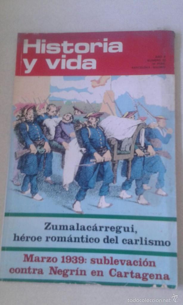 HISTORIA Y VIDA Nº 52 (Coleccionismo - Revistas y Periódicos Modernos (a partir de 1.940) - Revista Historia y Vida)