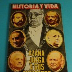 Coleccionismo de Revista Historia y Vida: HISTORIA Y VIDA Nº 118. AZAÑA JUZGA A SUS MINISTROS. Lote 59530443