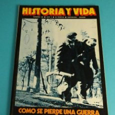 Coleccionismo de Revista Historia y Vida: HISTORIA Y VIDA Nº 108. COMO SE PIERDE UNA GUERRA, ESPAÑA 1939. Lote 59531763