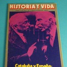 Coleccionismo de Revista Historia y Vida: HISTORIA Y VIDA Nº 104. CATALUÑA Y ESPAÑA: ESTATUTO DE AUTONOMÍA. LA VERDAD SOBRE EL MAINE. Lote 59532135