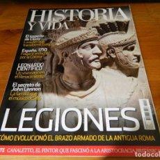 Coleccionismo de Revista Historia y Vida: REVISTA HISTORIA Y VIDA: LEGIONES.. Lote 61386999