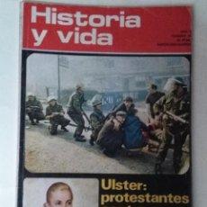 Coleccionismo de Revista Historia y Vida: HISTORIA Y VIDA 49 EVA PERON. BELFAST. FUNDACION GUARDIA CIVIL. FELIPE III Y PLAZA MAYOR MADRID. Lote 67635285