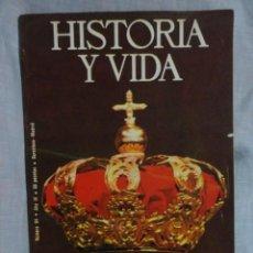 Coleccionismo de Revista Historia y Vida: REVISTA HISTORIA Y VIDA Nº 94 ,DE ALFONSO XII A JUAN CARLOS I - FRANCISCO FRANCO Y LOS BORBONES , 76. Lote 69122737