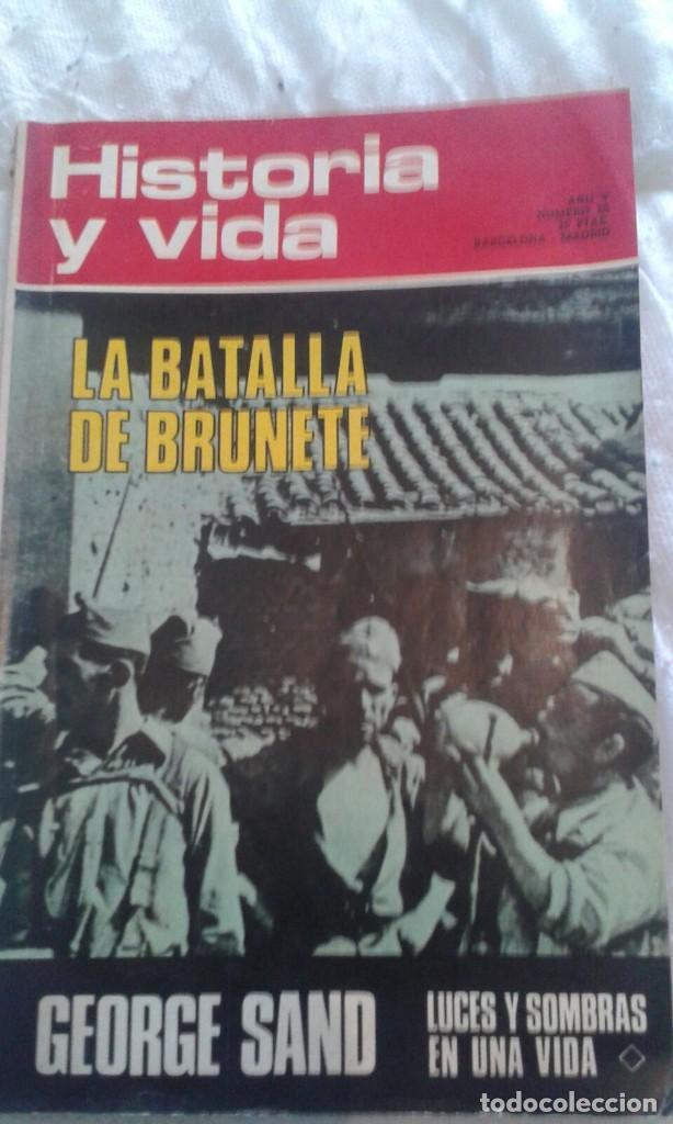 REVISTA HISTORIA Y VIDA AÑO V Nº50 (Coleccionismo - Revistas y Periódicos Modernos (a partir de 1.940) - Revista Historia y Vida)