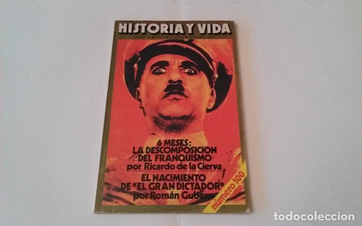 REVISTA HISTORIA Y VIDA NÚMERO 100 (Coleccionismo - Revistas y Periódicos Modernos (a partir de 1.940) - Revista Historia y Vida)