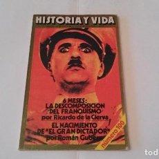Coleccionismo de Revista Historia y Vida: REVISTA HISTORIA Y VIDA NÚMERO 100. Lote 73423955