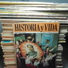 Coleccionismo de Revista Historia y Vida: TREMENDA COLECCIÓN DE 64 REVISTAS HISTORIA Y VIDA - AÑOS 60-70 -. Lote 75091995