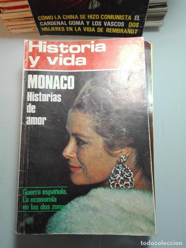 Coleccionismo de Revista Historia y Vida: TREMENDA COLECCIÓN DE 64 REVISTAS HISTORIA Y VIDA - AÑOS 60-70 - - Foto 4 - 75091995