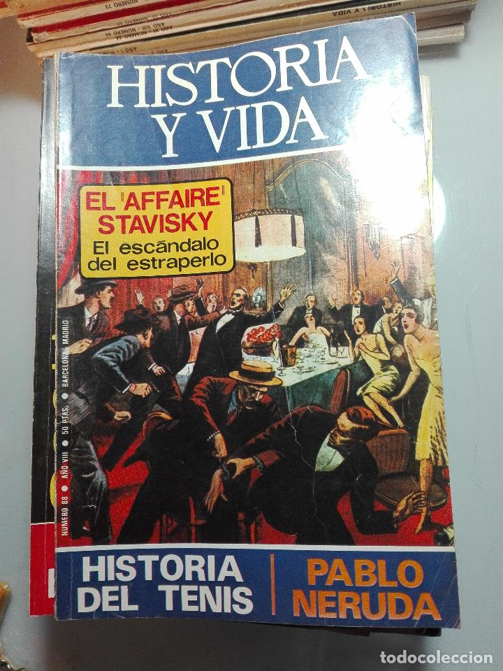 Coleccionismo de Revista Historia y Vida: TREMENDA COLECCIÓN DE 64 REVISTAS HISTORIA Y VIDA - AÑOS 60-70 - - Foto 5 - 75091995