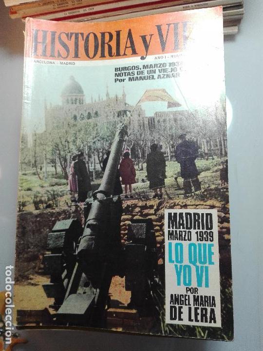Coleccionismo de Revista Historia y Vida: TREMENDA COLECCIÓN DE 64 REVISTAS HISTORIA Y VIDA - AÑOS 60-70 - - Foto 6 - 75091995