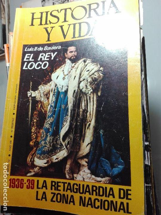 Coleccionismo de Revista Historia y Vida: TREMENDA COLECCIÓN DE 64 REVISTAS HISTORIA Y VIDA - AÑOS 60-70 - - Foto 10 - 75091995
