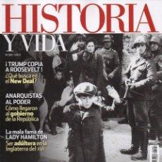 Coleccionismo de Revista Historia y Vida: HISTORIA Y VIDA N. 587 - EN PORTADA: LOS NAZIS Y EL EXTERMINIO (NUEVA). Lote 102125775