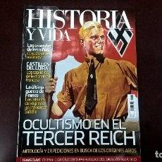 Coleccionismo de Revista Historia y Vida: OCULTISMO EN EL TERCER REICH. Lote 85470596
