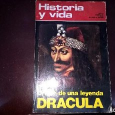Coleccionismo de Revista Historia y Vida: HISTORIA Y VIDA-DRACULA N* 60. Lote 85578600