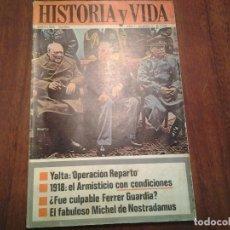 Coleccionismo de Revista Historia y Vida: HISTORIA Y VIDA - Nº 8, 39, 44, 55, 70, 77, 93, 103, 107, 116, 119, 137, 138, 139 Y 143. Lote 87015352