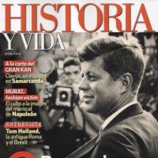 Coleccionismo de Revista Historia y Vida: HISTORIA Y VIDA N. 590 - EN PORTADA: BUSCANDO A KENNEDY (NUEVA). Lote 170158717