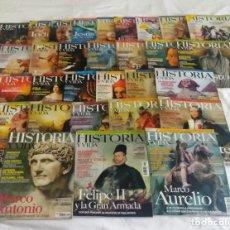 Coleccionismo de Revista Historia y Vida: LOTE 30 REVISTAS HISTORIA Y VIDA - ENVÍO GRATIS. Lote 93037580