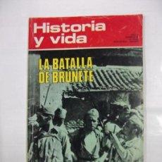 Coleccionismo de Revista Historia y Vida: REVISTA HISTORIA Y VIDA Nº 50. AÑO V. LA BATALLA DE BRUNETE. GEORGE SAND. TDKR40. Lote 96584803