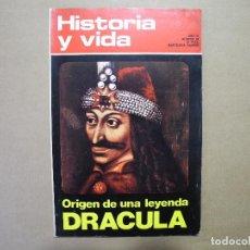 Coleccionismo de Revista Historia y Vida: HISTORIA Y VIDA. AÑO VI N. 60 ORIGEN DE UNA LEYENDA DRÁCULA. Lote 96610523