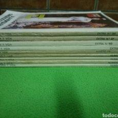 Coleccionismo de Revista Historia y Vida: LOTE 9 REVISTAS HISTORIA Y VIDA. AÑOS 80. Lote 96860434