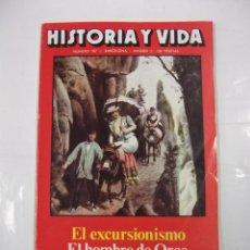 Coleccionismo de Revista Historia y Vida: HISTORIA Y VIDA Nº 187. EL EXCURISIONISMO. EL HOMBRE DE ORCE. JOSE ANTONIO Y LA FALANGE. TDKR44. Lote 97909147