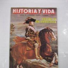 Coleccionismo de Revista Historia y Vida: HISTORIA Y VIDA Nº 190. FELIPE IV EN ANDALUCIA. ORWELL 1984. TDKR44. Lote 97909639
