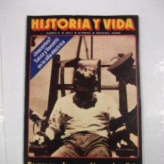 Coleccionismo de Revista Historia y Vida: HISTORIA Y VIDA Nº 110. SACCO Y VANZETTI EN LA SILLA ELECTRICA. TDKR44. Lote 97909771