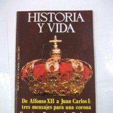 Coleccionismo de Revista Historia y Vida: HISTORIA Y VIDA Nº 94. AÑO IX. DE ALFONSO XII A JUAN CARLOS I. TDKR44. Lote 97909871