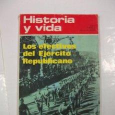 Coleccionismo de Revista Historia y Vida: HISTORIA Y VIDA Nº 66. AÑO VI. LOS EFECTIVOS DEL EJERCITO REPUBLICANO. TDKR44. Lote 97909935