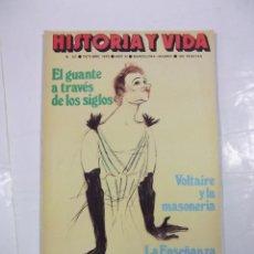 Coleccionismo de Revista Historia y Vida: HISTORIA Y VIDA Nº 127. OCTUBRE 1978. AÑO I. VOLTAIRE Y LA MASONERIA. TDKR44. Lote 97910123