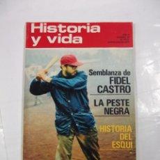 Coleccionismo de Revista Historia y Vida: HISTORIA Y VIDA Nº 48. AÑO V. SEMBLANZA DE FIDEL CASTRO. LA PESTE NEGRA. TDKR44. Lote 97910223